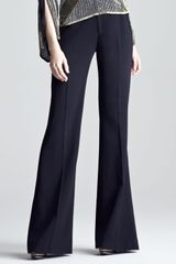 Ralph Lauren Collection Womens Flared Gabardine Pants - Lyst