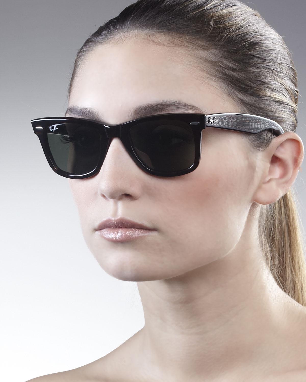 51b2ea1c1f Ray-Ban Original Wayfarer Sunglasses Tortoise in Black - Lyst