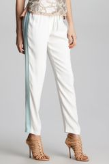 Rebecca Taylor Side Stripe Track Pants - Lyst