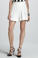 Robert Rodriguez Pleated Boy Shorts - Lyst