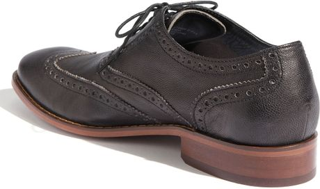 Cole Haan Air Colton Wingtip Oxford In Black For Men