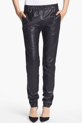 J Brand Ready-to-wear Masako Leather Pants - Lyst