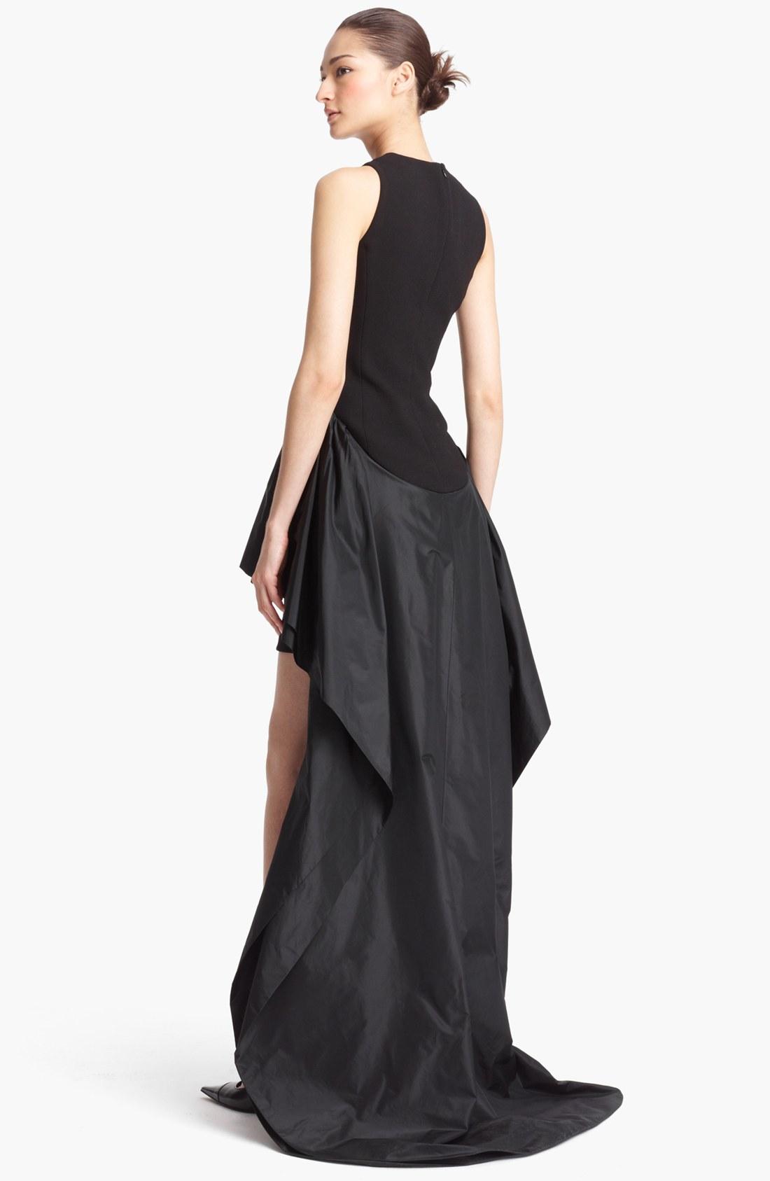 Michael Kors Sleeveless High/Low Peplum Gown ( Size 2) 884531839007 ...