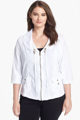Xcvi Wearables Maddy Zip Front Jacket - Lyst