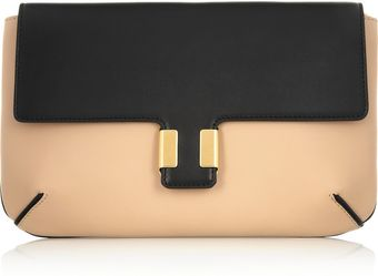 Chloé Amelia Leather Clutch - Lyst