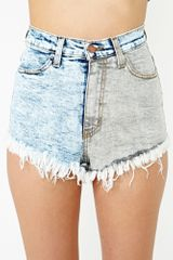 Nasty Gal Tough Side Cutoff Shorts - Lyst