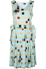 Fendi Print Dress - Lyst