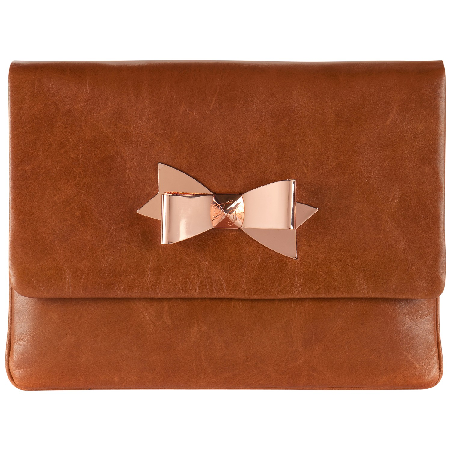 tan purse clutch