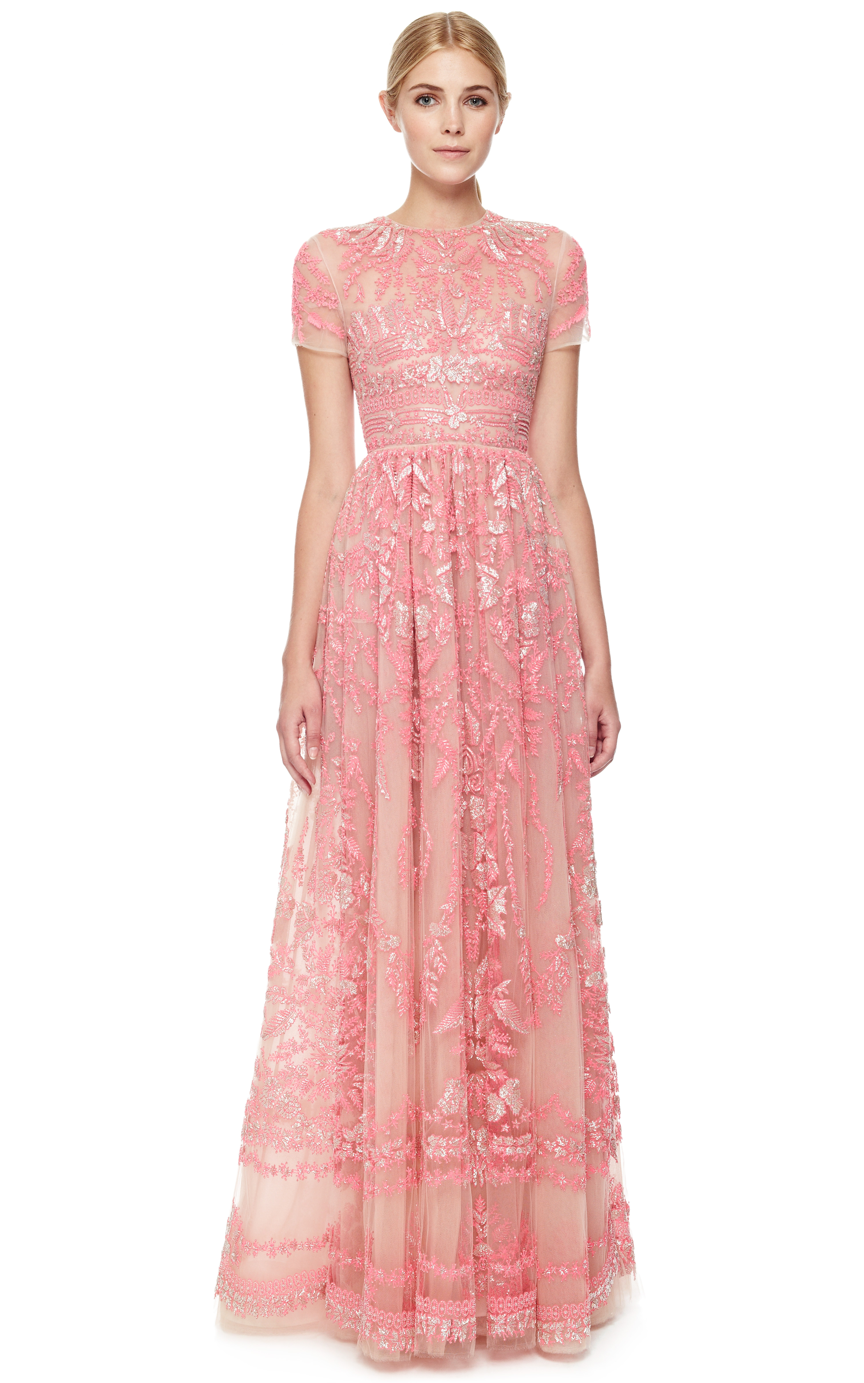 Lyst - Valentino Gown in Pink