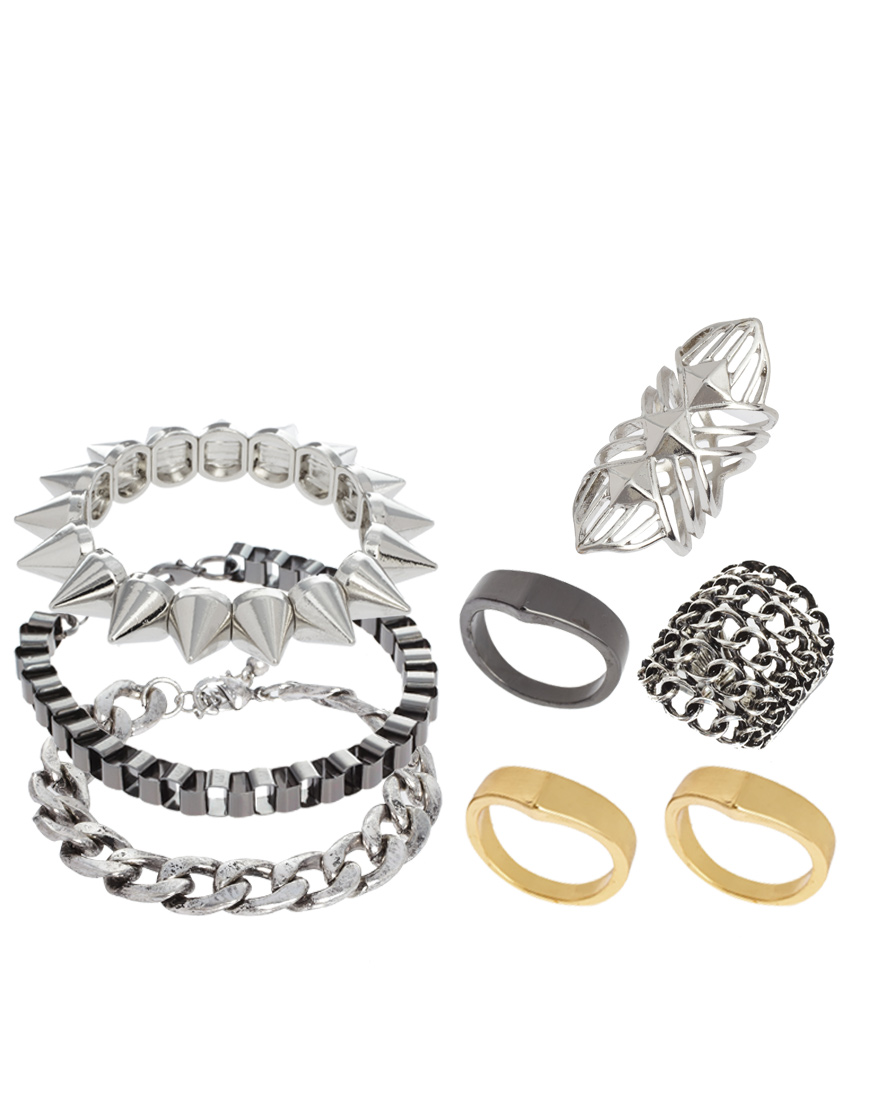Asos Rock Ring Bracelet Multipack Silver moreover Jones New York Silver Tone Oval Stone Collar Necklace Indicolite moreover William Mesh Watch 134101 26 together with Qr Codes Tomodachi Life moreover Notte By Marchesa Silk And Lace Peplum Gown White. on jones pants for women