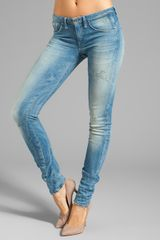 G-star Raw Arc 3d Super Skinny in Comfort Blossom Medium Age Destroy - Lyst