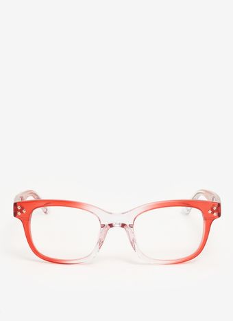 Matthew Williamson Graduated Transparent Frame Optical Glasses - Lyst