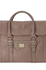 Nine West Battleship Foldover Shopper - Lyst