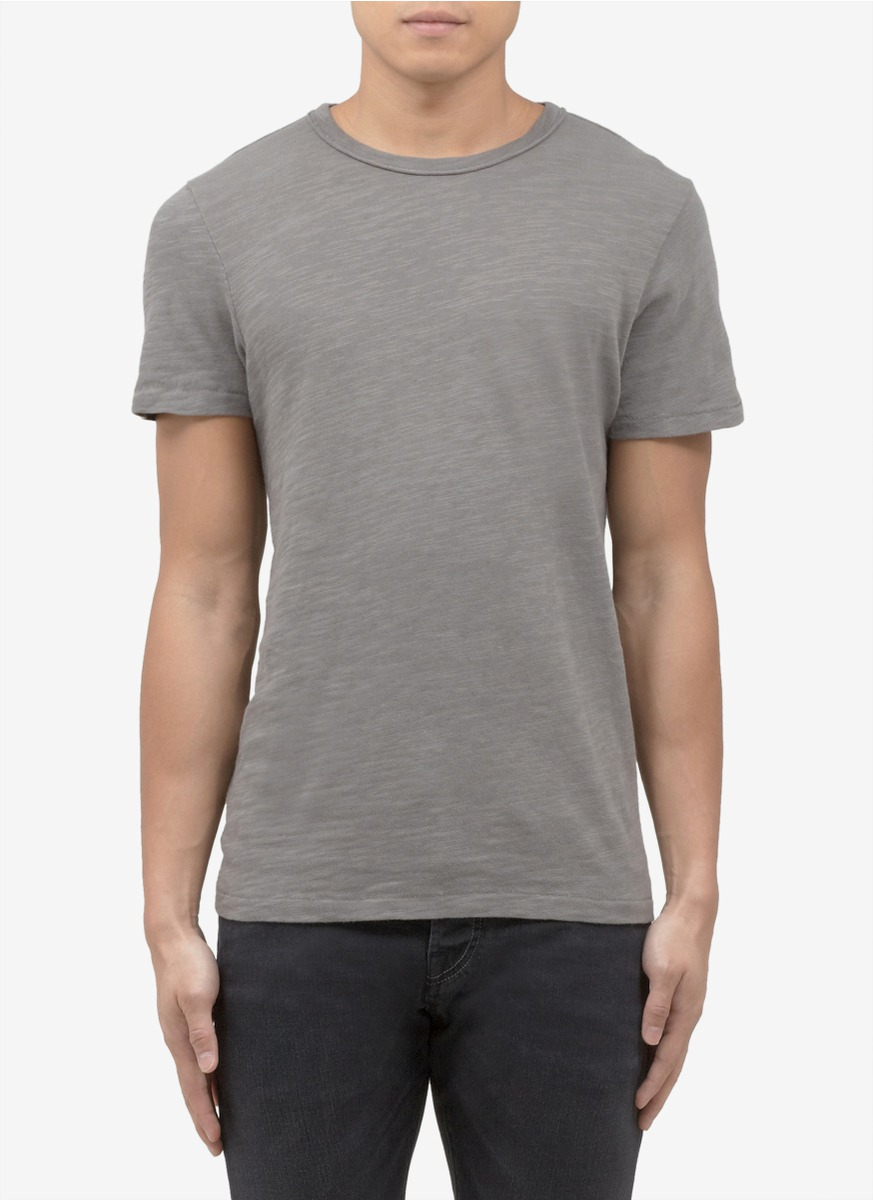 Rag bone cotton jersey t shirt in gray for men lyst for Rag bone shirt