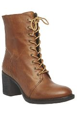 Steve Madden Glacer in Brown (COGNAC LEATHER) - Lyst