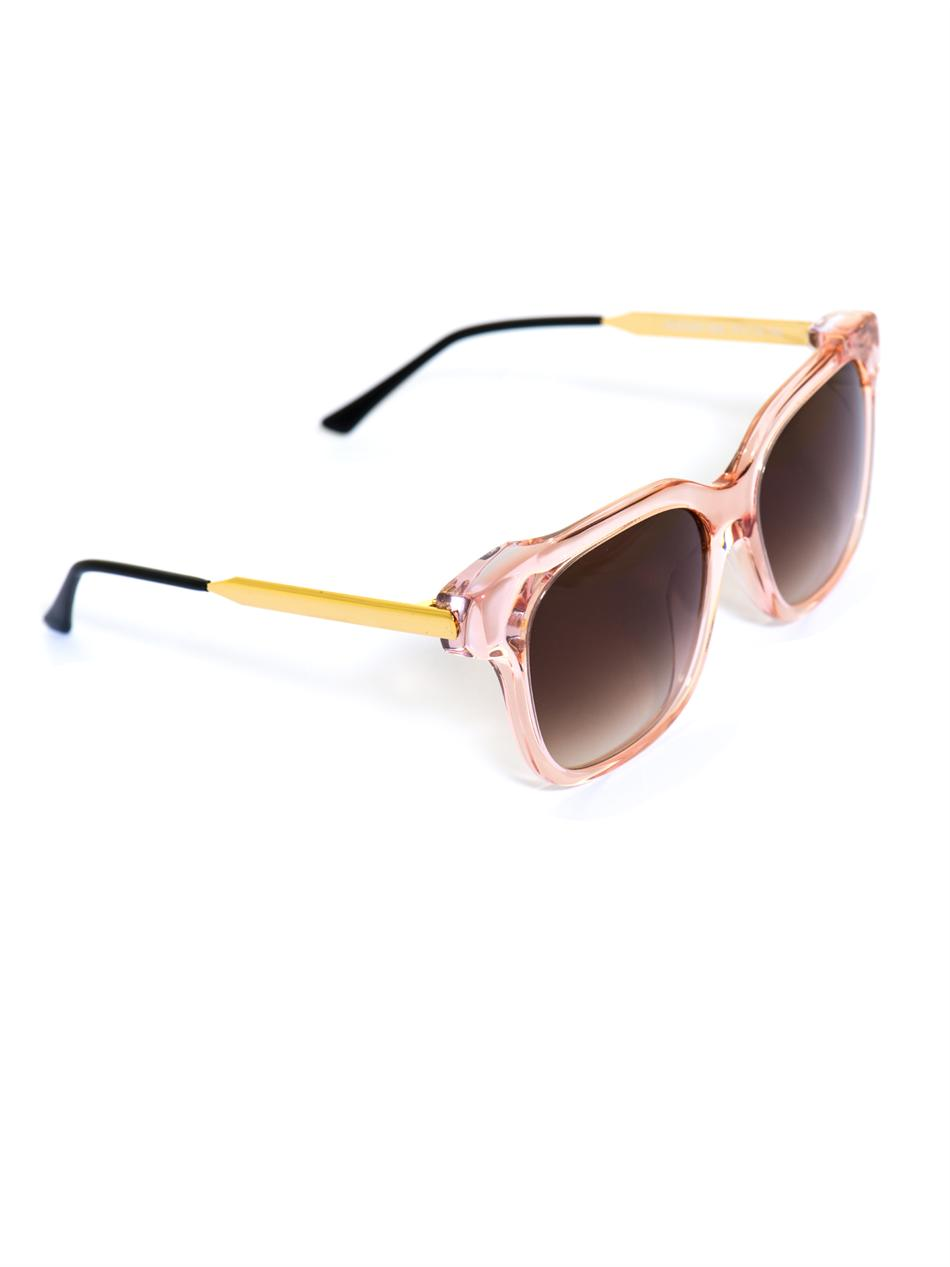 5e689832308 Lyst - Thierry Lasry Rapsody Squareframe Sunglasses in Pink