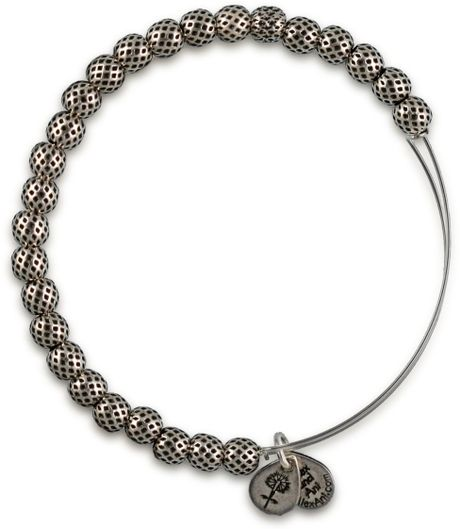 alex and ani euphrates bracelet in silver lyst