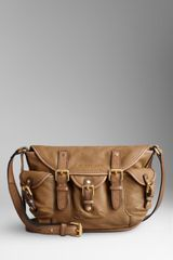 Burberry Small Pocket Detail Crossbody Bag - Lyst
