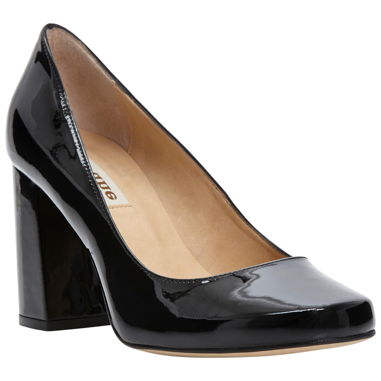 cd9eb53f25 Dune Agaze Block Heel Court Shoes in Black - Lyst