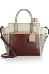 Reed Krakoff Atlantique Mini Colorblock Leather Tote - Lyst