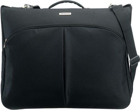 Samsonite cordoba duo suit and garment bag in black for for Wedding dress garment bag for air travel