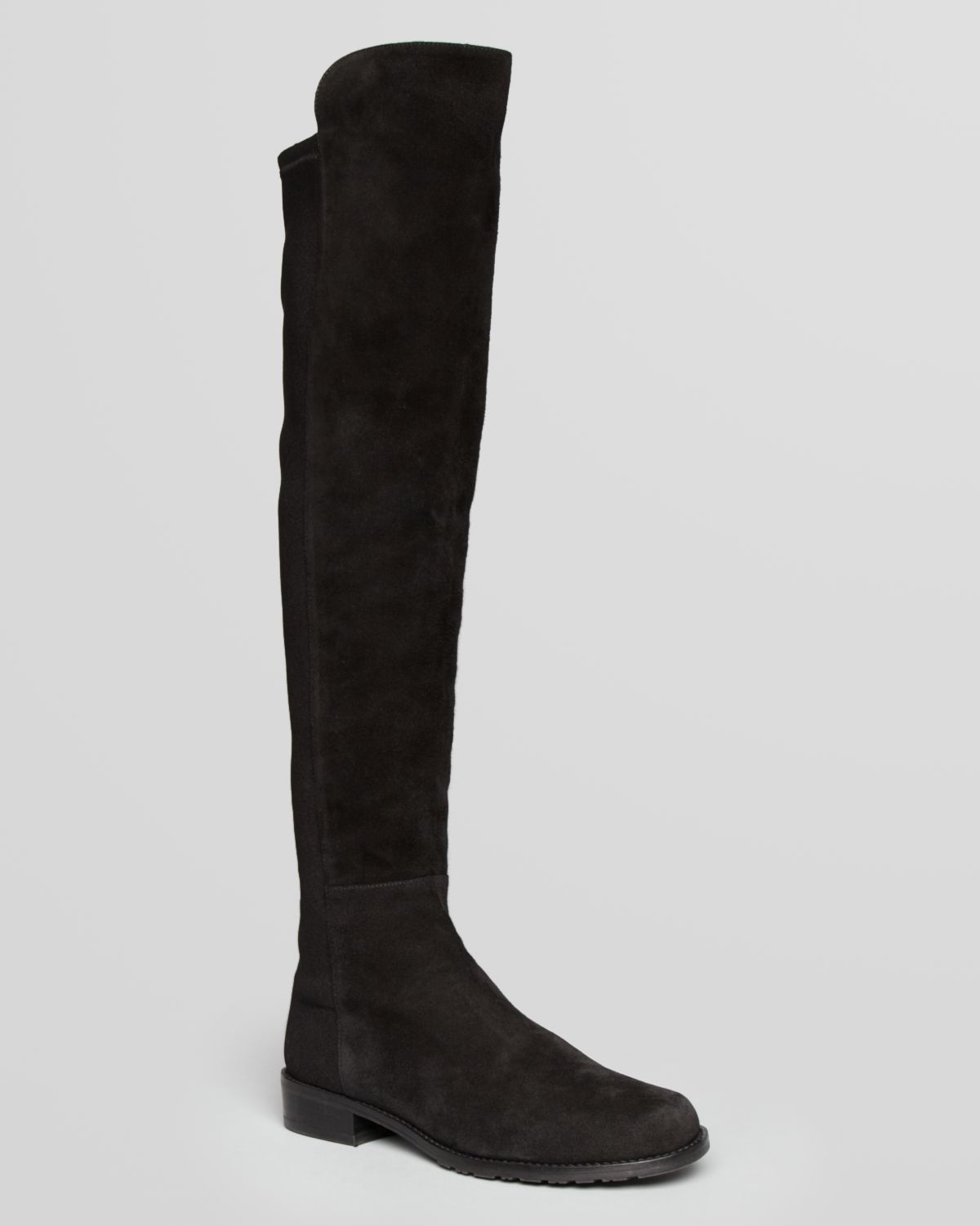 stuart weitzman the knee stretch suede boots
