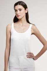 White + Warren Knit Tank - Lyst
