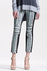 10 Crosby by Derek Lam Striped Slim Pants - Lyst