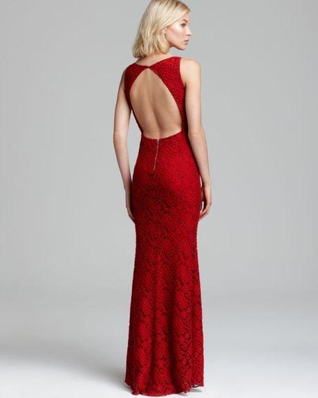 Red Open Back Maxi Dress Maxi Dress Sachi Open Back