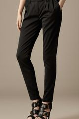 Burberry Skinny Fit Jet Pocket Trousers - Lyst