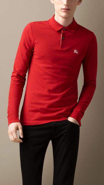 Long Sleeve Ralph Lauren Polo Shirts For Men