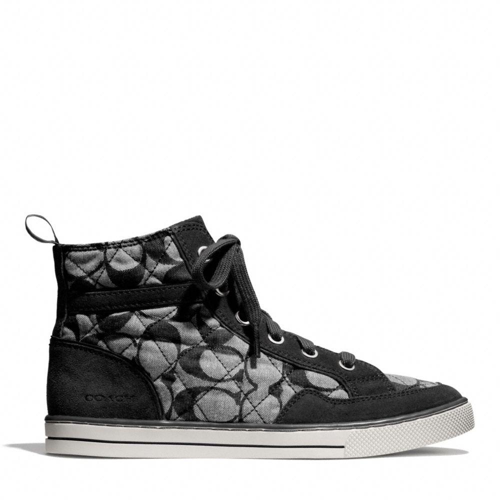Coach Pita Sneaker in Black (BLACK VANILLA/BLACK) | Lyst