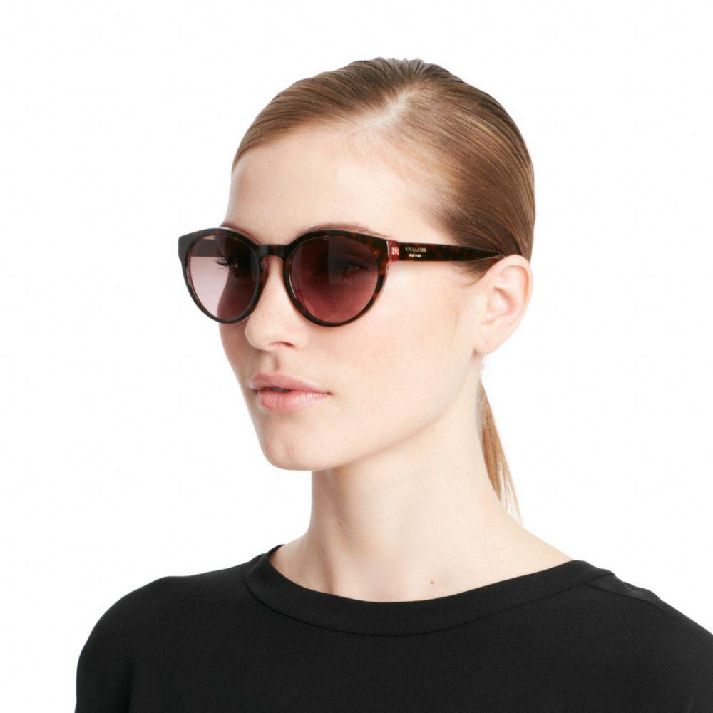 d842aecb7e ... italy lyst coach kylie sunglasses in black 776b8 abefa