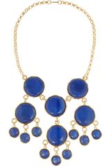 Kenneth Jay Lane Goldplated Resin Necklace - Lyst