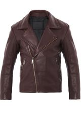 McQ by Alexander McQueen Leather Biker Jacket - Lyst
