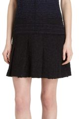 Proenza Schouler Tweed Drop Waist Ombre Dress - Lyst