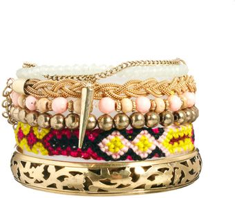 River Island Fallen Angel Friendship Bracelet Pack - Lyst