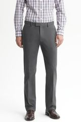 Banana Republic Tailored Slim Cotton Trouser - Lyst