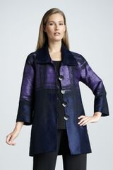 Caroline Rose Painted Long Jacket - Lyst