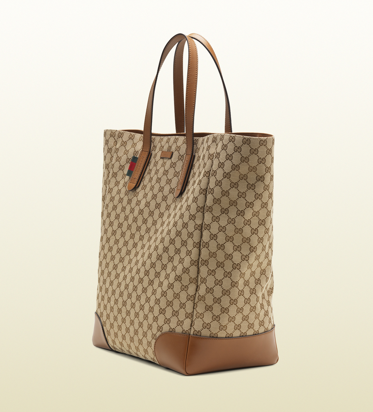 58089869870 Gucci Tall Original Gg Canvas Tote in Natural for Men - Lyst