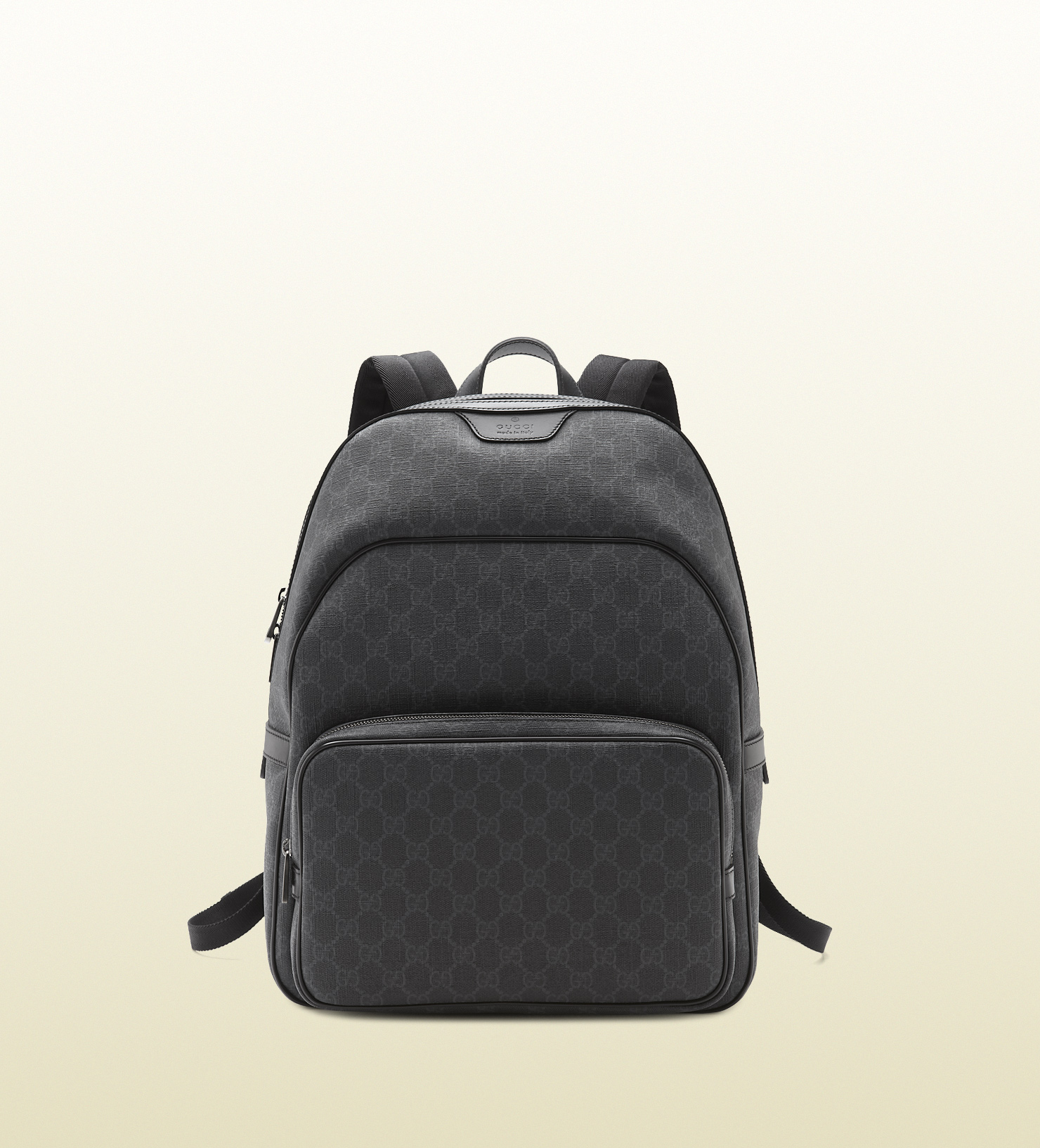 215fe02f670314 Gucci Gg Supreme Canvas Backpack in Gray for Men - Lyst