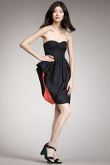 Marc By Marc Jacobs Ellsworth Strapless Taffeta Dress - Lyst