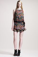 Proenza Schouler Printed Chiffon Dress - Lyst
