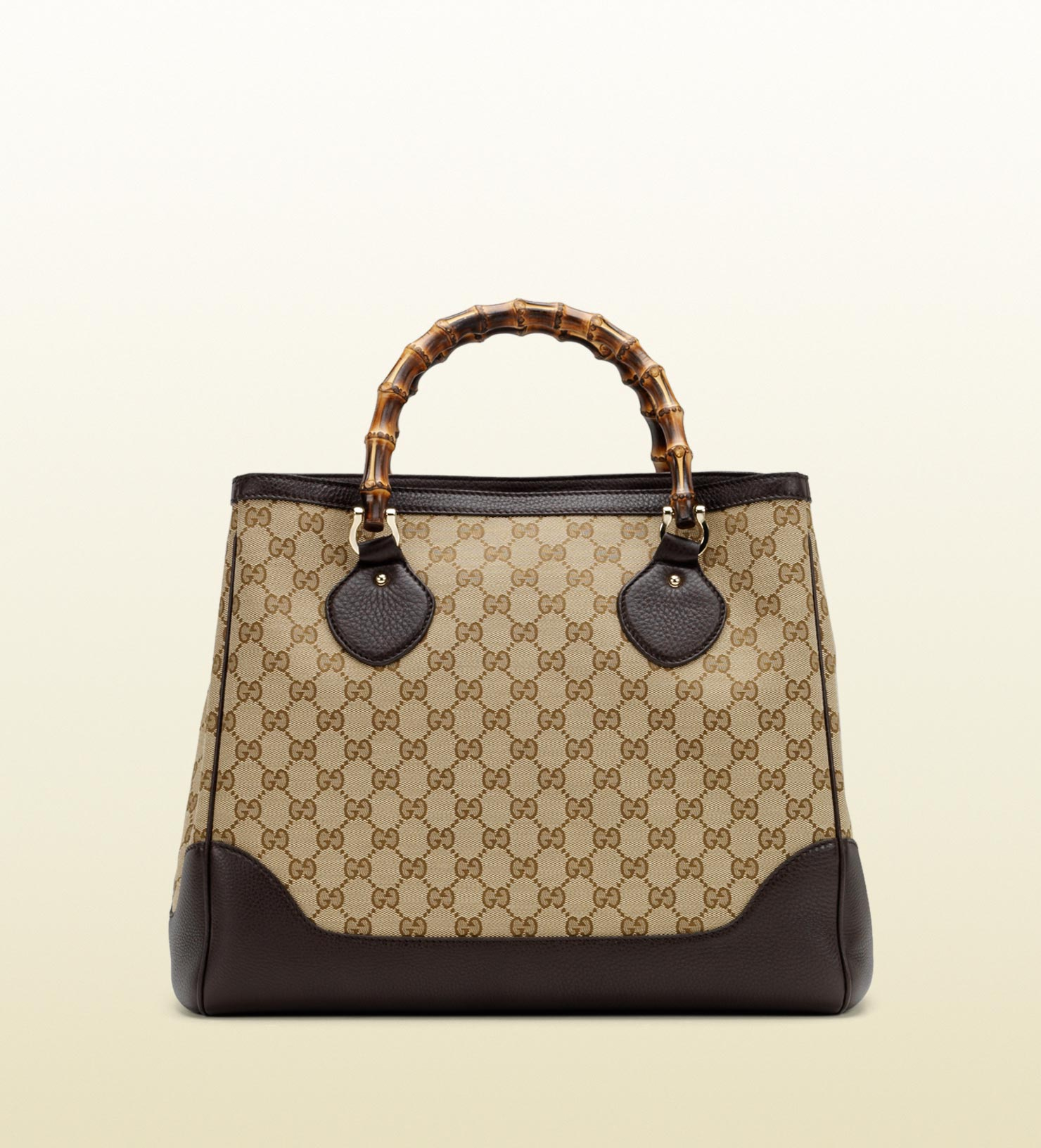1c4c1e068412c4 Gucci Diana Bamboo Handle Tote in Brown - Lyst