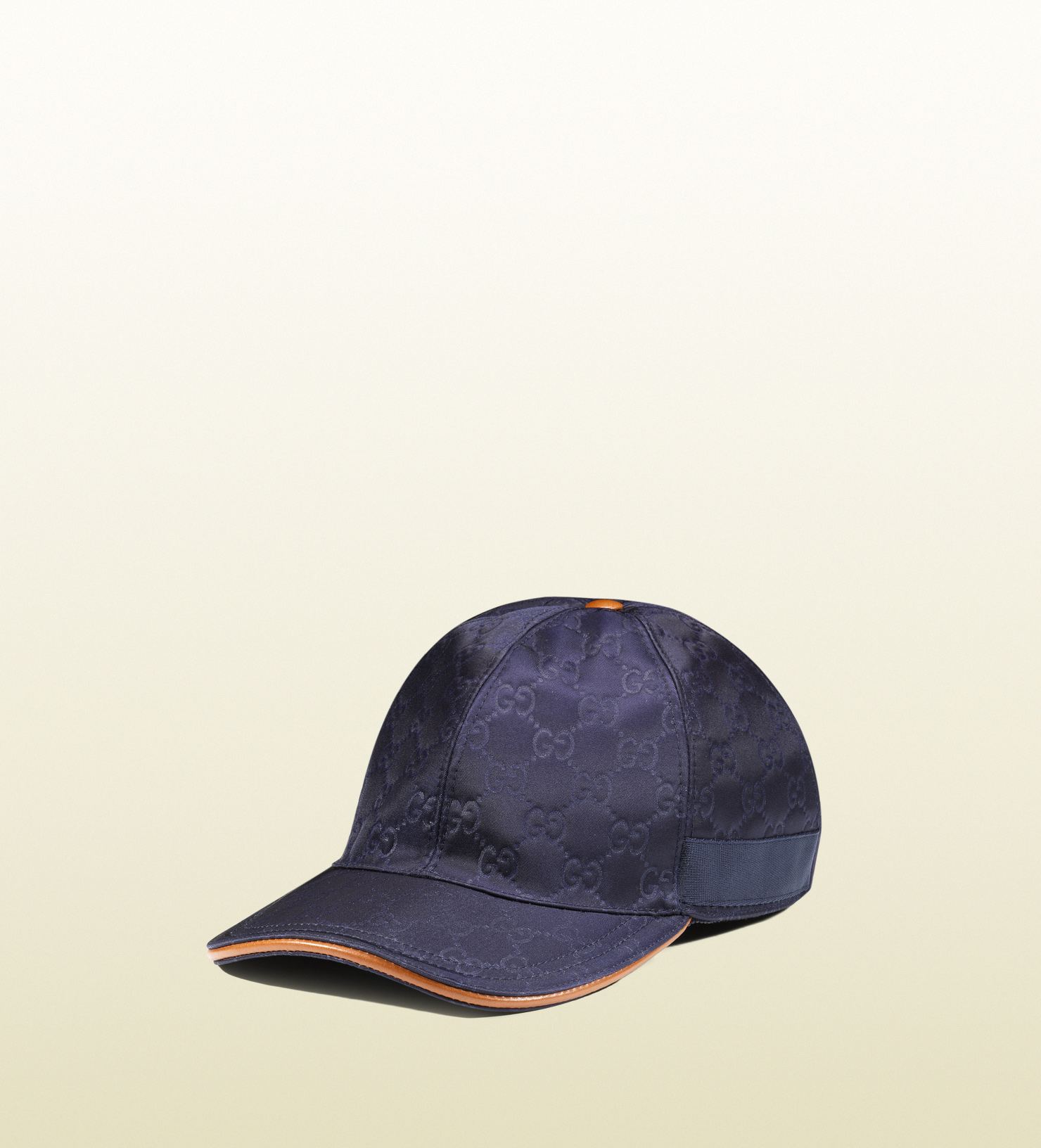 49433600 Gucci Gg Pattern Baseball Hat with Web Detail in Blue for Men - Lyst