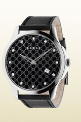 Gucci Gtimeless Collection Watch with Diamonds - Lyst