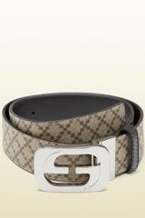 Gucci Reversible Belt with Interlocking G Buckle - Lyst