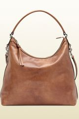 Gucci Miss Gg Cuir Leather Hobo - Lyst