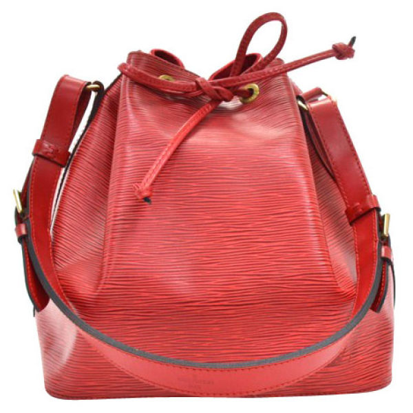 Louis vuitton Louis Vuitton Vintage Red Epi Leather Noe Petit Red ...