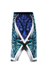 Peter Pilotto Arrow Beam Printed Pencil Skirt - Lyst
